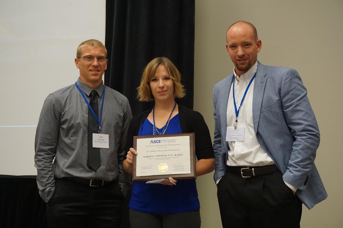 Matt Rynish Award Recipient for 2016, Marissa Wildeck